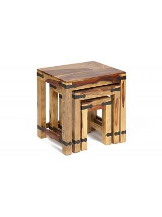 Набор табуреток / столиков Бомбей SAP-0077