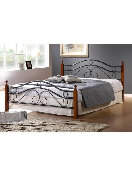 Кровать кованая AT 803 + металл. основание (120/140/160/180)