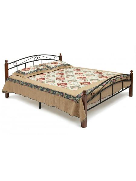 Кованая кровать АТ 8077 + металл. основание (90/120/140/160/180)