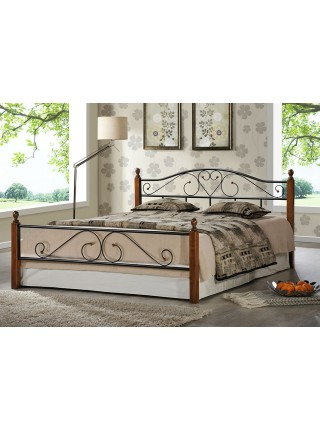 Кровать кованая AT 815 + металл. основание (140/160/180)