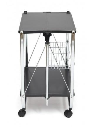 Сервировочный складывающийся столик SC-5119 Черный