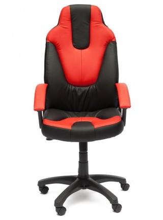 Кресло NEO (2) кож/зам, черный/красный, 36-6/36-161