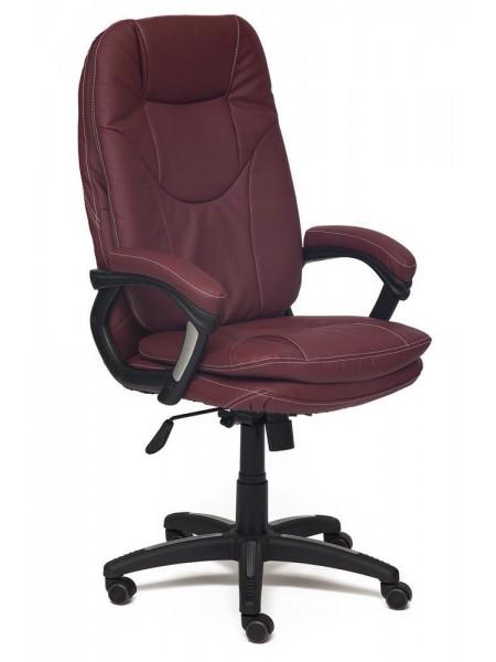 Кресло COMFORT кож/зам, бордо, PU-C36-7