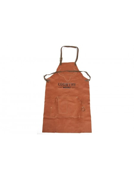 Фартук для барбекю Secret De Maison COUNTRY MAN ( mod. M-14330 ) кожа буйвола, 61*96, коричневый