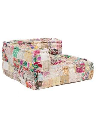 Модуль мягкий угловой Secret De Maison FANCY (mod. 10203) cotton patchwork, 80х80х43см, этнический Patchwork