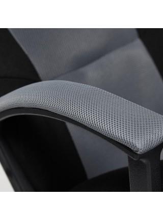 Кресло DRIVER ткань, черный/серый, 2603/12