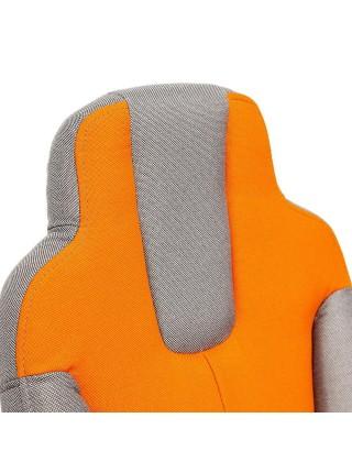 Кресло NEO (3) ткань, серый/оранжевый, С27/С23