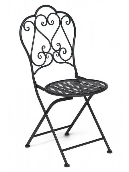 Стул Secret De Maison Love Chair стальной сплав, 43х48х91см, черный