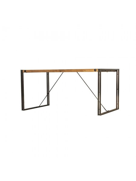 Стол обеденный Secret De Maison CITY ( mod. CTY D04-160 ) металл/дерево акация, 160х90х76см, коричневый дым (smoke brown B034)