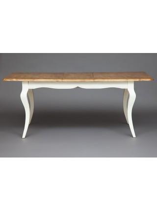 Стол Secret De Maison BORDEAUX (mod.T9132) дерево береза, 76х150(+40)х90см, груша/белый (butter white)
