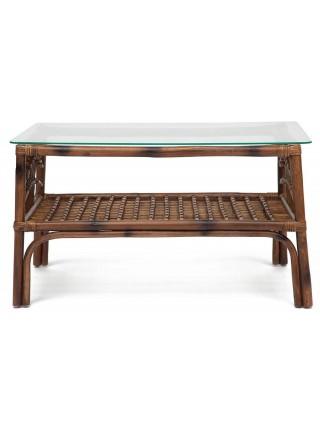 Столик кофейный Secret De Maison Kavanto натуральный ротанг, 83*53*47 см, коричневый античный / Brown Antique