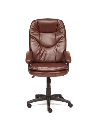 Кресло COMFORT LT кож/зам, коричневый, 2 TONE