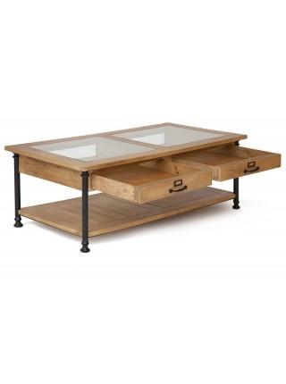 Журнальный стол Secret De Maison ACADEMY дерево манго, 50х135х70см, Natural (натуральный)