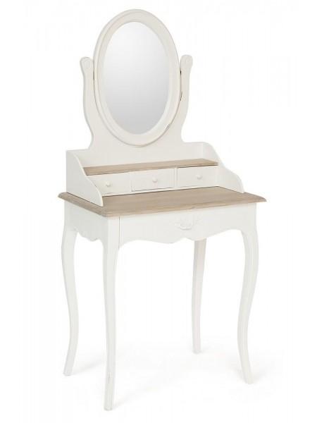 Туалетный столик Secret De Maison MATHIS ( mod. DST 03 ) красное дерево, 151х71х45см, Натуральный Минди/butter white