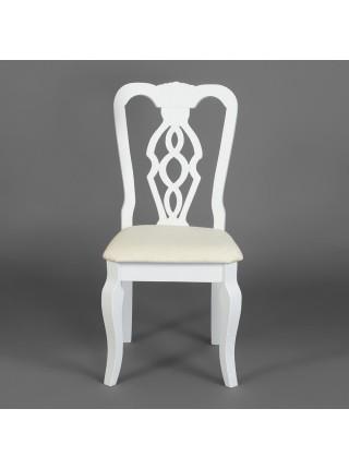 Стул - Афродита/ Aphrodite дерево гевея, 46х54х99см, pure white (белый 2-1)