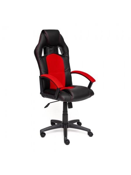 Кресло DRIVER ткань, черный/красный, 2603/08