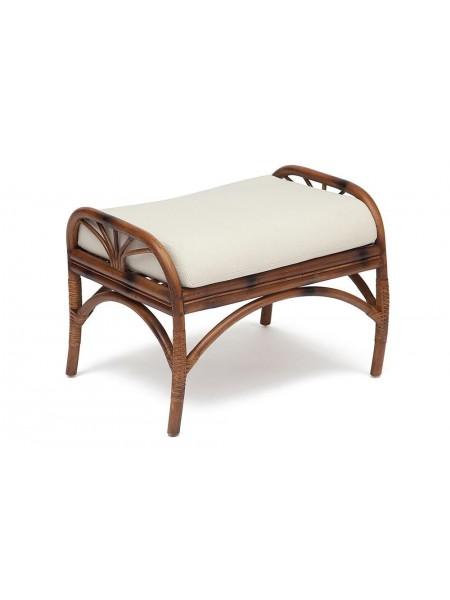 Оттоманка Secret De Maison Kavanto натуральный ротанг, 65*50*49 см, коричневый античный / Brown Antique