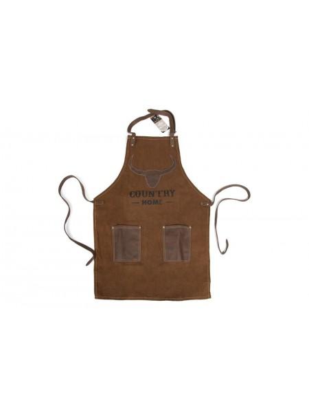 Фартук для барбекю Secret De Maison COUNTRY MAN ( mod. M-14332 ) ткань хлопок, 60*89, коричневый