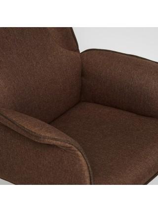 Кресло CHARM ткань, коричневый/коричневый , F25/ЗМ7-147