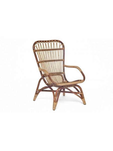 Кресло Secret De Maison Andersen (mod. 01 5085/1-1) натуральный ротанг, 67х98х81см, светлый мед/матовый