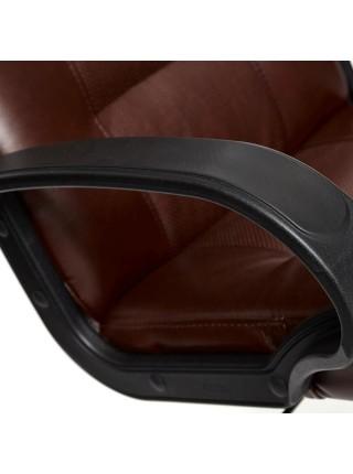 Кресло DEVON кож/зам, коричневый/коричневый перфорированный, 2 TONE/2 TONE /06