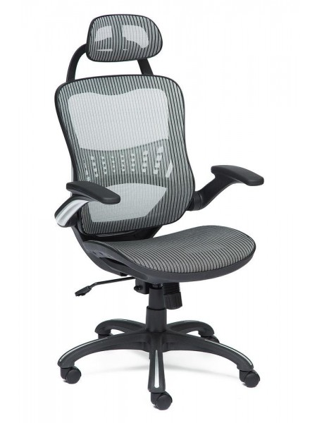 Кресло MESH-1 ткань, серый