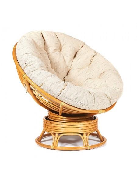 "Кресло-качалка ""PAPASAN"" w 23/01 B /с подушкой/ Honey (мед)"