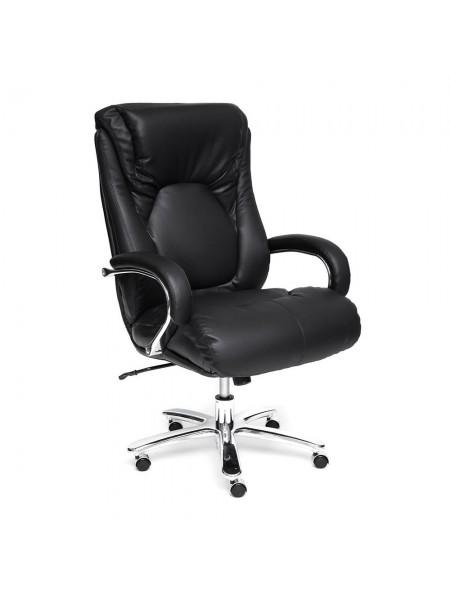 Кресло MAX Иск. кожа рециклированная/ПУ, черный/черный , 36-6