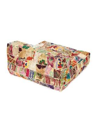 Модуль мягкий со спинкой Secret De Maison FANCY (mod. MA-101) cotton patchwork, 80х80х43см, этнический Patchwork