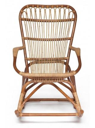 Кресло-качалка Secret De Maison Andersen (mod. 01 5086RC/1-1) натуральный ротанг, 69х99х93см, светлый мед/матовый