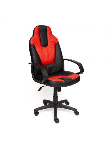 Кресло NEO (1) кож/зам, черный/красный, 36-6/36-161