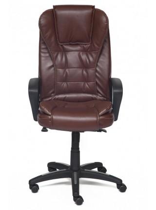 Кресло BARON кож/зам, Коричневый/коричневый перфорированный, 2 TONE/2 TONE/06