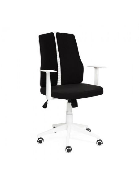 Кресло LITE белый, ткань, черный, 54