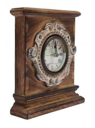 Часы Secret De Maison FUCO ( mod. M-8063 ) дерево манго, 18 х 5 х 20, коричневый винтаж