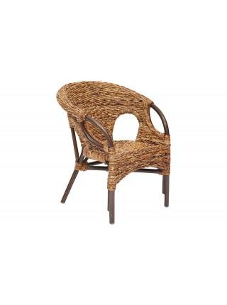 """Комплект """"Mandalino"""" 05/21 ( диван + 2 кресла + стол ) Плетение-банановые листья"""
