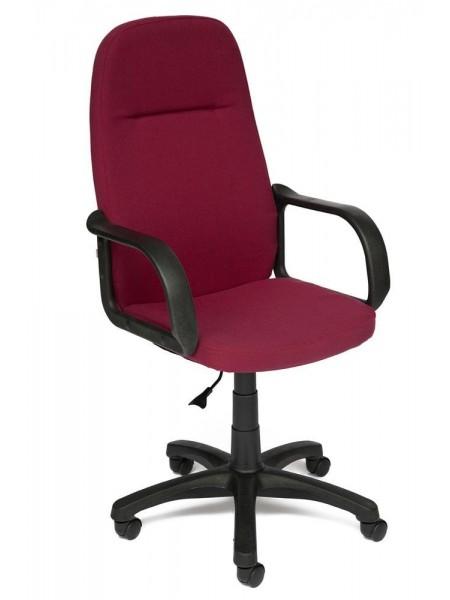 Кресло LEADER ткань, бордо, 2604