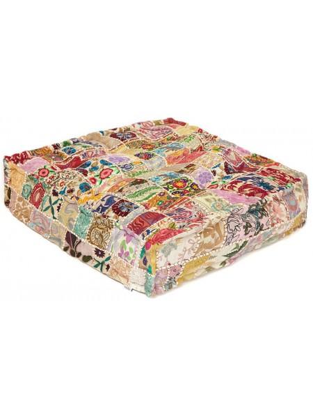 Модуль мягкий Secret De Maison FANCY(mod. MA-107) cotton patchwork, 80х80х20см, этнический Patchwork
