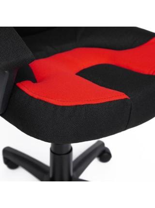 Кресло NEO (3) ткань, черный/красный, 2603/493
