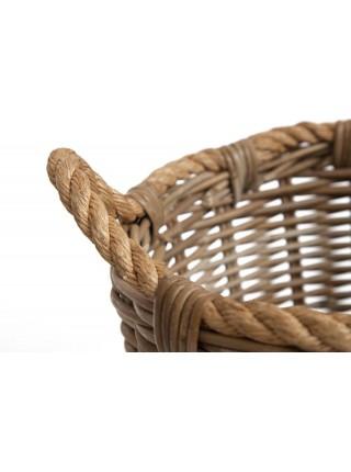 Корзина Secret De Maison Yanbe (набор из 2 штук) натуральный ротанг, 31*31*44 / 39*39*54 , Натуральный Кубу / Natural Kubu