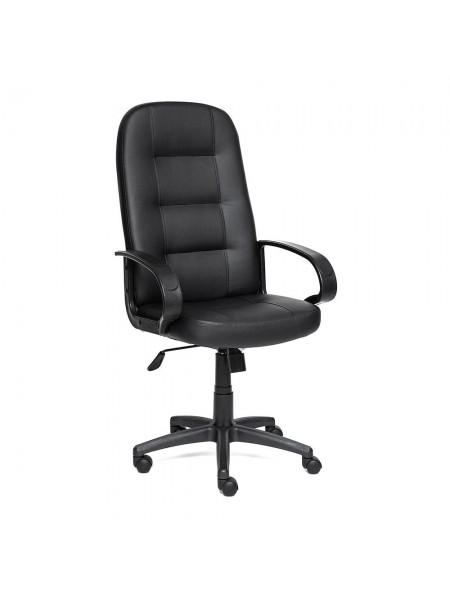Кресло DEVON кож/зам, черный, 36-6