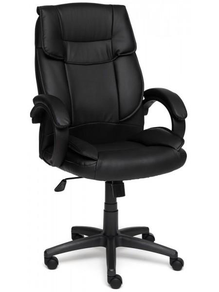 Кресло OREON черный+черный перфорированный, 36-6/36-6/06