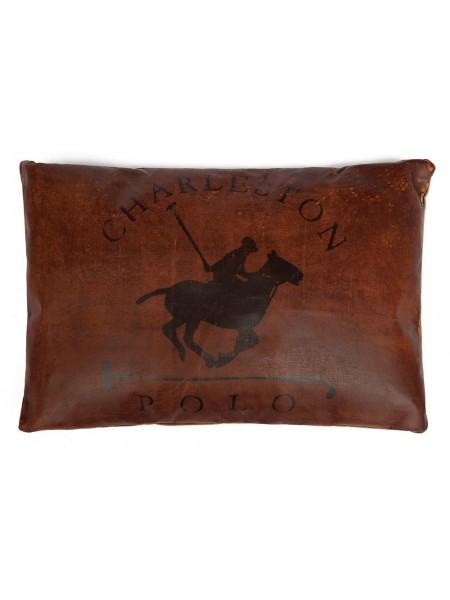 Подушка POLO ( mod. M-1845 ) кожа буйвола, 60*40