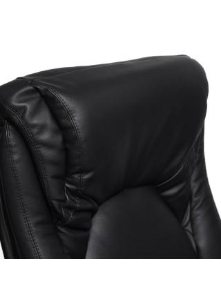 Кресло MAX кожа/кож/зам, черный