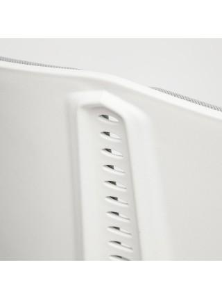 Кресло LITE белый, ткань, серый, 53