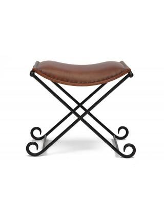 Стул Secret De Maison FLEX ( mod. M-1931 ) металл/кожа буйвола, 45 х52 х46см, коричневый