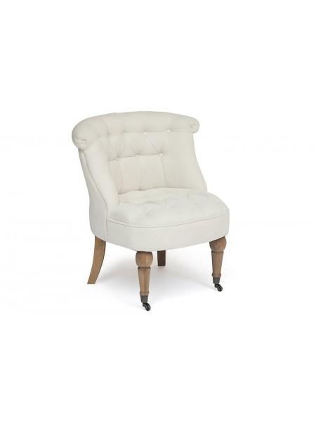 Кресло Secret De Maison Bunny (mod. CC1202) велюр, 75х63х70см, слоновая кость/ Miss-01
