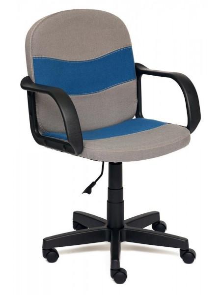 Кресло BAGGI ткань, серый/синий, С27/С24