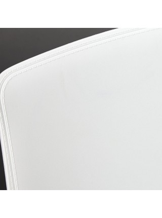 Стул GENIUS (mod 75) металл/пластик, 46x56x84cм, белый