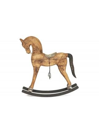 Лошадки набор Secret De Maison COLT ( mod. M-10883 ) металл/дерево манго, А-61*16*66, В-49*12*49, С-39*11*40, натуральный