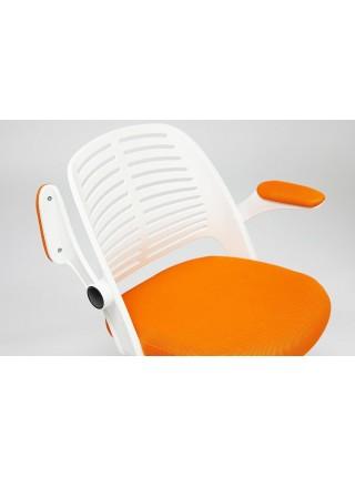 Кресло JOY ткань, оранжевый